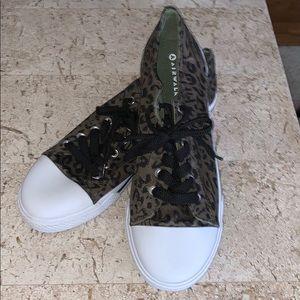 Airwalk Cheetah Print Black Lace Brand New!